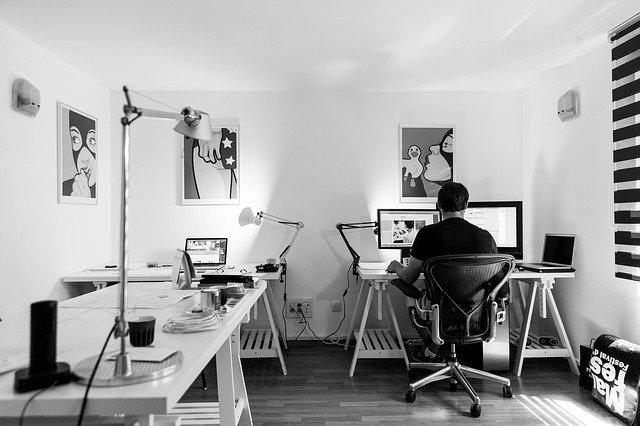 Developer in home